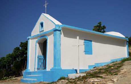 Chapelle Notre Dame du Calvaire à La Désirade